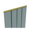 Dveřní síť proti hmyzu, 100x220 cm, černá