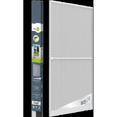 Hliníková dveřní síť proti hmyzu | 100x215 cm | ŠEDÁ | ROZBALENO