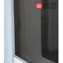 Okenní síť proti hmyzu univerzální, 130 x 150 cm, černá