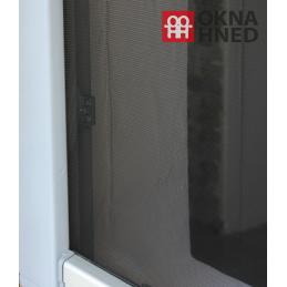 Okenní síť proti hmyzu univerzální, 130x150 cm, černá