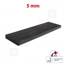 Vymezovací plastová podložka 28 x 100 x 5 mm