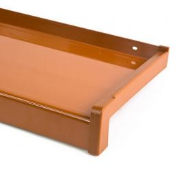 Venkovní hliníkový parapet (tažený)