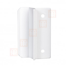 Balkonové madélko | hliníkové | bílé
