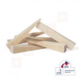 Montážní dřevěné klínky 150x25x25-1mm
