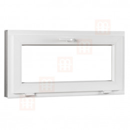 Plastové okno   130x60 cm (1300x600 mm)   bílé   sklopné
