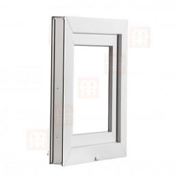 Plastové okno | 60x44 cm (600x440 mm) | bílé | sklopné