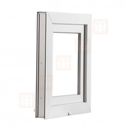 Plastové okno | 70x44 cm (700x440 mm) | bílé | sklopné