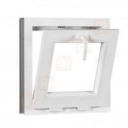 Plastové okno | 47x47 cm (470x470 mm) | bílé | sklopné